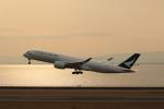buntaroさんが、中部国際空港で撮影したキャセイパシフィック航空 A350-941XWBの航空フォト(写真)