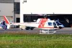 kaeru6006さんが、東京ヘリポートで撮影した朝日航洋 AS350B3の航空フォト(写真)