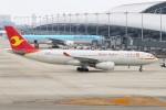 青春の1ページさんが、関西国際空港で撮影した天津航空 A330-243の航空フォト(写真)