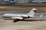 なごやんさんが、名古屋飛行場で撮影したビスタジェット BD-700-1A10 Global 6000の航空フォト(写真)