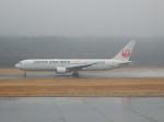 こじこじさんが、熊本空港で撮影した日本航空 767-346/ERの航空フォト(写真)