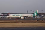 Cスマイルさんが、成田国際空港で撮影したエアソウル A321-231の航空フォト(写真)