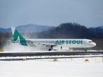 まーたんさんが、高松空港で撮影したエアソウル A321-231の航空フォト(写真)