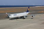ゆなりあさんが、中部国際空港で撮影したルフトハンザドイツ航空 A340-313Xの航空フォト(写真)