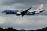 accheyさんが、福岡空港で撮影した日本トランスオーシャン航空 737-8Q3の航空フォト(写真)