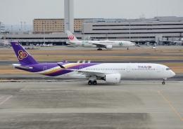 じーく。さんが、羽田空港で撮影したタイ国際航空 A350-941XWBの航空フォト(写真)