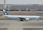 じーく。さんが、羽田空港で撮影したキャセイパシフィック航空 777-267の航空フォト(写真)