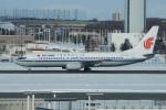 神宮寺ももさんが、新千歳空港で撮影した中国国際航空 737-86Nの航空フォト(写真)