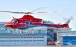 Soraya_Projectさんが、東京ヘリポートで撮影した石川県消防防災航空隊 412EPの航空フォト(写真)