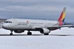 falconさんが、秋田空港で撮影したアシアナ航空 A321-231の航空フォト(写真)