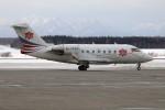 北の熊さんが、新千歳空港で撮影した中一航空 CL-600-2B16 Challenger 604の航空フォト(写真)