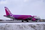 yabyanさんが、新千歳空港で撮影したピーチ A320-214の航空フォト(飛行機 写真・画像)