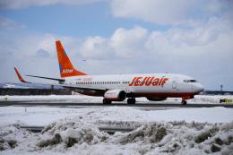 yabyanさんが、新千歳空港で撮影したチェジュ航空 737-8ASの航空フォト(飛行機 写真・画像)