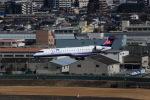 T.Sazenさんが、伊丹空港で撮影したアイベックスエアラインズ CL-600-2C10 Regional Jet CRJ-702ERの航空フォト(飛行機 写真・画像)