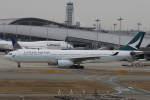 プルシアンブルーさんが、関西国際空港で撮影したキャセイパシフィック航空 A330-343Xの航空フォト(写真)