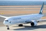 ドラパチさんが、中部国際空港で撮影したキャセイパシフィック航空 777-367の航空フォト(写真)
