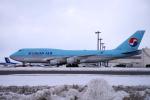 yabyanさんが、新千歳空港で撮影した大韓航空 747-4B5の航空フォト(写真)