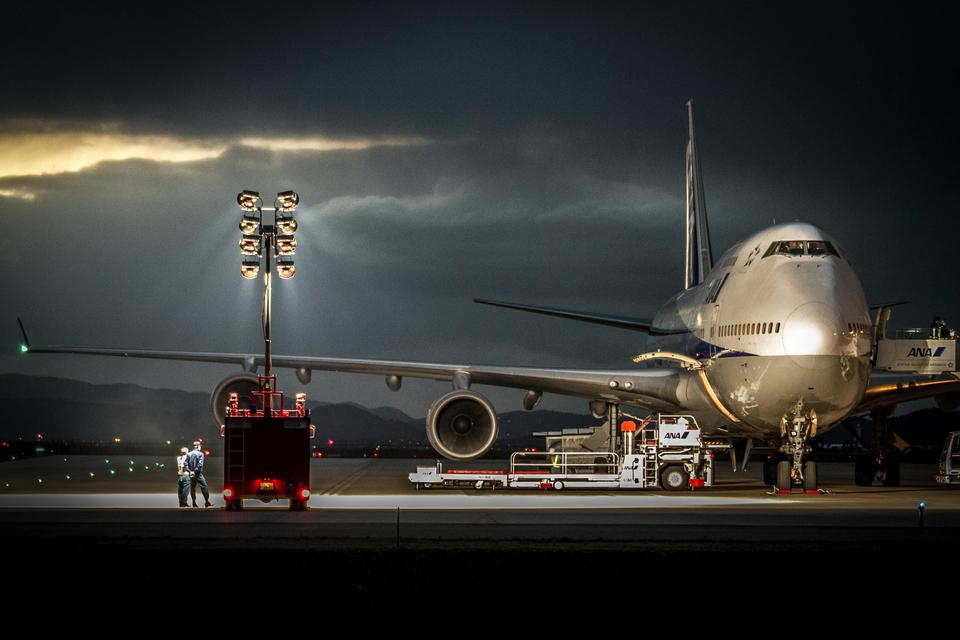 カヤノユウイチさんの全日空 Boeing 747-400 (JA8958) 航空フォト