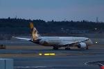 Mochi7D2さんが、成田国際空港で撮影したエティハド航空 787-9の航空フォト(写真)