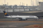krozさんが、羽田空港で撮影したルフトハンザドイツ航空 A350-941XWBの航空フォト(写真)