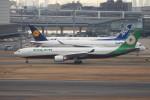 krozさんが、羽田空港で撮影したエバー航空 A330-302の航空フォト(写真)