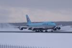 かずまっくすさんが、新千歳空港で撮影した大韓航空 747-4B5の航空フォト(写真)