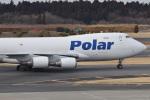 Cスマイルさんが、成田国際空港で撮影したポーラーエアカーゴ 747-46NF/SCDの航空フォト(写真)