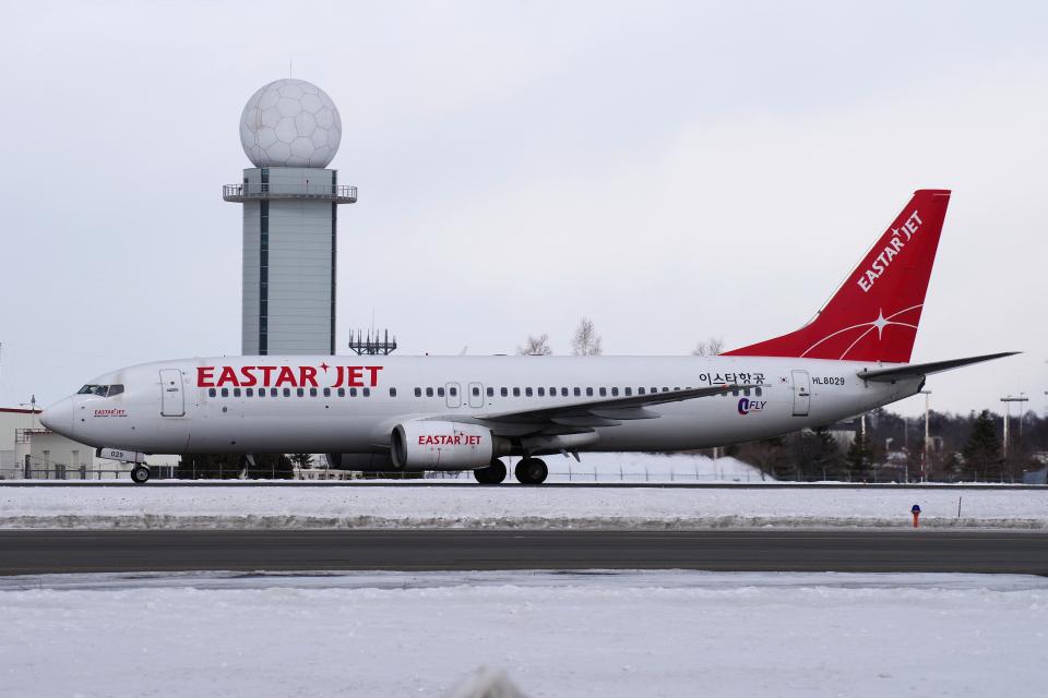 yabyanさんのイースター航空 Boeing 737-800 (HL8029) 航空フォト