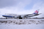 yabyanさんが、新千歳空港で撮影したチャイナエアライン 747-409の航空フォト(写真)