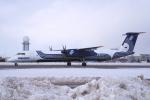yabyanさんが、新千歳空港で撮影したオーロラ DHC-8-402Q Dash 8の航空フォト(飛行機 写真・画像)