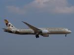 とりてつさんが、成田国際空港で撮影したエティハド航空 787-9の航空フォト(写真)