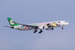 yabyanさんが、新千歳空港で撮影したエバー航空 A330-302Xの航空フォト(写真)
