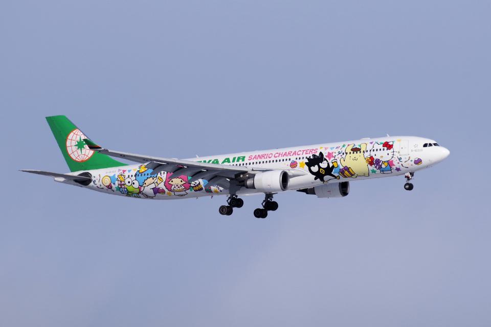 yabyanさんのエバー航空 Airbus A330-300 (B-16333) 航空フォト