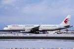 yabyanさんが、新千歳空港で撮影した中国東方航空 A321-211の航空フォト(写真)