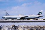 yabyanさんが、新千歳空港で撮影したキャセイパシフィック航空 777-367の航空フォト(飛行機 写真・画像)
