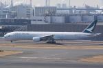 HEATHROWさんが、羽田空港で撮影したキャセイパシフィック航空 777-367の航空フォト(写真)