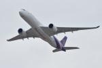 Cスマイルさんが、成田国際空港で撮影したタイ国際航空 A350-941XWBの航空フォト(写真)