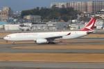 青春の1ページさんが、福岡空港で撮影したキャセイドラゴン A330-343Xの航空フォト(写真)