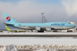 たみぃさんが、新千歳空港で撮影した大韓航空 747-4B5の航空フォト(写真)