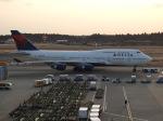 kayさんが、成田国際空港で撮影したデルタ航空 747-451の航空フォト(写真)