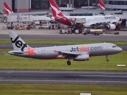 skymon14さんが、シドニー国際空港で撮影したジェットスター A320-232の航空フォト(飛行機 写真・画像)