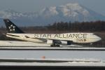 ウッディーさんが、新千歳空港で撮影したタイ国際航空 747-4D7の航空フォト(写真)