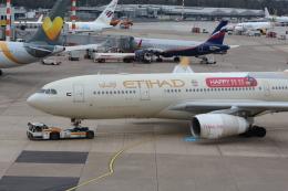Koenig117さんが、デュッセルドルフ国際空港で撮影したエティハド航空 A330-243の航空フォト(飛行機 写真・画像)
