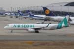 プルシアンブルーさんが、関西国際空港で撮影したエアソウル A321-231の航空フォト(写真)