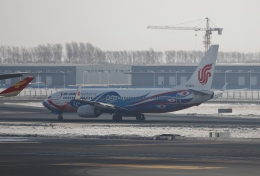 TAOTAOさんが、ハルビン太平国際空港で撮影した中国国際航空 737-89Lの航空フォト(飛行機 写真・画像)