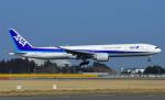 なかよし号さんが、成田国際空港で撮影した全日空 777-381/ERの航空フォト(写真)