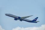 Takeshi90ssさんが、香港国際空港で撮影したアエロフロート・ロシア航空 777-3M0/ERの航空フォト(写真)