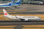 SGR RT 改さんが、羽田空港で撮影した日本航空 737-846の航空フォト(写真)
