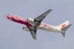 北の熊さんが、新千歳空港で撮影した中国国際航空 737-86Nの航空フォト(飛行機 写真・画像)
