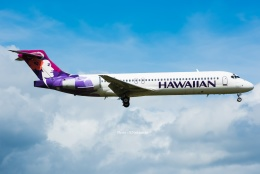 Photo : T.Nakanishiさんが、カフルイ空港で撮影したハワイアン航空 717-22Aの航空フォト(写真)